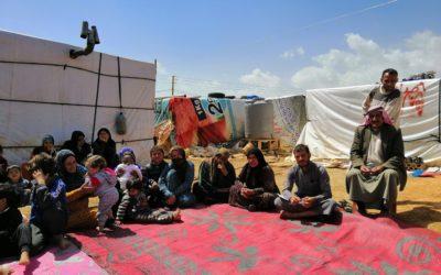 Les Syriens vulnérables touchés par le conflit, en particulier les femmes et les jeunes, ont un accès accru à l'eau, à la résilience et à une vie digne en Syrie et au Liban